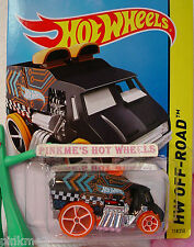 Case E 2014 Hot Wheels COOL-ONE Delivery truck #118 US❊Black;oh5 orange❊Off-Road