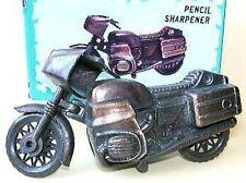 Vintage Die-Cast metal Mini BMW Motorcycle pencil Sharpener