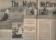 Rodeo History & Genealogy - The Mighty McClure