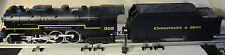 LIONEL CHESAPEAKE AND OHIO HEAVYWEIGHT ELECTRIC TRAIN SET