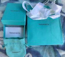 Tiffany & Co Box, Jewelry Pouch, Bag & Ribbon