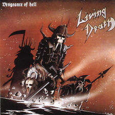 Living Death - Vengeance of Hell Official Brazilian Edition OOP Sealed RARE