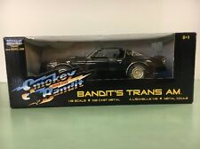 "*1977 BANDIT'S TRANS AM ""SMOKEY AND THE BANDIT"" 1:18th AMERICAN MUSCLE BY ERTL*"