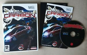 Need for Speed: Carbon  -- Wii Game -- PAL -- MINT Condition