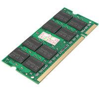 2 GB DDR2 800Mhz PC2-6400 Arbeitsspeicher SODIMM Memory RAM für Laptop Notebook