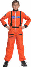 Morris Costumes Boys Embroidered Astronaut Costume Orange 4-6. UR26981SM