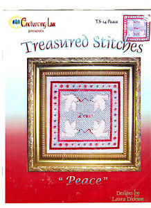 SALE!! Peace Doves Treasured Stitches Enchanting Lair Counted Cross Stitch Kit