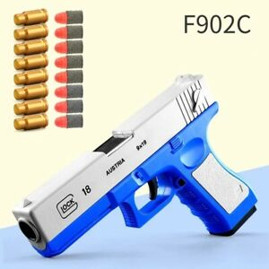 Glock & M1911 Pistol Ejection Shell Darts Bullets Outdoor Toys Gun Handgun Toy S