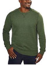 G.H. Bass Men's Crew Neck Sweatshirt, Medium, Green