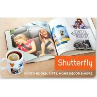 $25 Shutterfly Gift Card