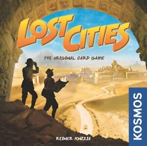 Lost Cities Card Game by Reiner Knizia, KOSMOS