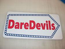 DAREDEVILS ARROW Metal Sign Vintage Retro 4 Circus Carnival Amusement Park