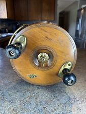 Peetz 6� Wood Brass Reel