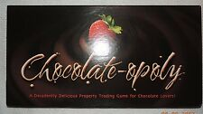 CHOCOLATE-OPOLY GAME 100% COMPLETE ALL FACTORY SEALED COMPONENTS MINT!