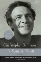 In Spite of Myself: A Memoir by plummer-christopher Book The Fast Free Shipping