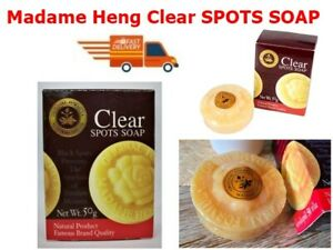 Madame Heng Clear SPOTS SOAP Natural Concentrate Soap White Skin Lightening