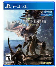 Monster Hunter: World (Sony PlayStation 4, 2018) PS4 New!