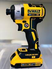 "DEWALT DCF887B 20V 20 Volt 1/4"" 3 Speed Impact Driver Tool + (1) 2.0AH Battery"
