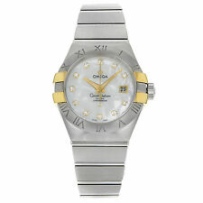 Omega Women's Stainless Steel Wristwatches with Date