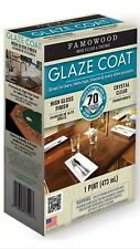 FAMOWOOD Glaze Coat Epoxy - Clear -Pint Kit clear high gloss epoxy famo wood