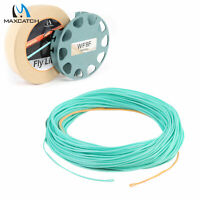Maxcatch Nymph Fly Line Floating WF2/3/4/5/6F 90' Weight Forward 2 Welded Loops