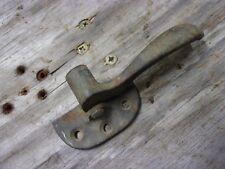 Vtg Solid Brass Bronze 1901 Ice Cooler Chest Box Latch Door Handle Part Lever