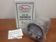 Dwyer - Model #3205 - Series 3000 - Photohelic, Pressure Switch/Gage - NEW