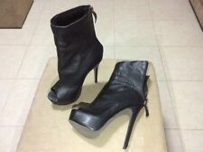 Ladies Wayne by Wayne Cooper boots - Cult Black Leather with fur lining Size 39
