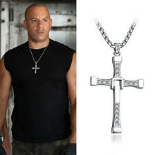 Colgante y cadena cruz de Toretto - Fast and Furious