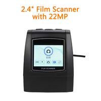 22MP Film Scanner 126KPK/135/110/Super 8 Films One Touch Scanner Compatible Mac