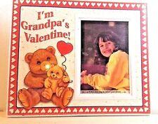 "PICTURE FRAME ""I'M GRANDPA'S VALENTINE"""