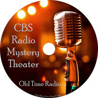 CBS Mystery Theater Old Time Radio Show OTR 1400+ Episodes on 4 MP3 DVDs