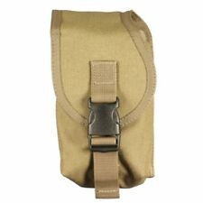 Bulle TAN Molle Webbing Tactical Radio pouch chiusa Top