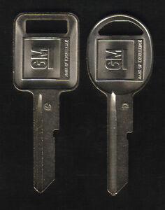 GMC 1968 1972 1976 1980 Key Blanks