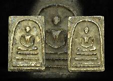Phra Somdej LP toh Wat Rakang Old Thai Buddha Amulet Pendant Magic RARE Luck #V4