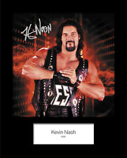 KEVIN NASH #2 (WWE) Signed (Reprint) 10x8 Mounted Photo Print - FREE DELIVERY