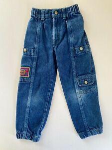 Vintage 90s 80s Little Levis Blue Denim Jeans Kids Patch Nice Fade Rare Size 6R