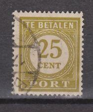 P60 Port nr.60 used gestempeld Nederlands Indie Indonesia due portzegel