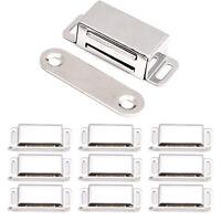 Lot 10x Loquet magnetique porte verrou aimant fermeture meuble armoire placard