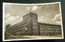 alte AK Regierungsgebäude Schneidemühl Pila Groß-Polen Westpreußen 1940 2. WK