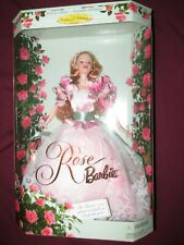 Rose Barbie Doll Mattel Collector's Edition Garden of Flowers 1st in Series 1998