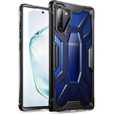 Galaxy Note 10 Case Poetic® Rugged Lightweight Clear Bumper Cover Cobalt Blue