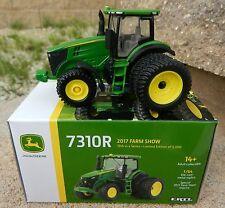 2017 ERTL 1:64 *FARM SHOW EDITION* John Deere 7310R Tractor w/Duals *NIB*