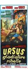 Ursus Rebel Gladiator Poster 01 A2 Caja Lona Impresión