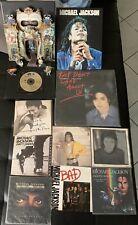 Lot Michael Jackson : Coffret pop up Dangerous + 45T + Maxi 45T + Livre