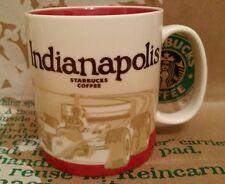 Starbucks Coffee Mug/Tasse/Becher INDIANAPOLIS,Global Icon Serie,NEU&unbenutzt!!