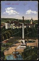 AK - Stuttgart - Altes Schloss - Jubiläumssäule - Concordia - Farbkarte