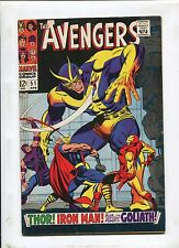 THE AVENGERS #51 (4.0) IN THE CLUTCHES OF..THE COLLECTOR!