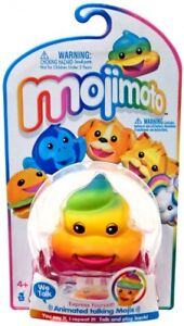 Mojimoto Animated Talking Mojis Rainbow Poop Hanger Figure