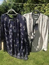 2 Ladies Blouses Marks And Spencer Collection Size 18 New With Tags